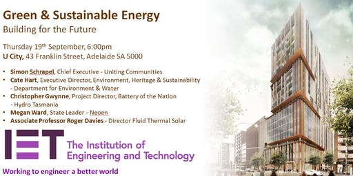 Green & Sustainable Energy: Building for the Future