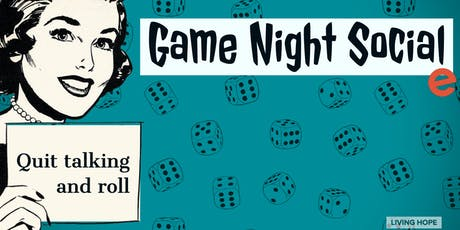Women of Hope Game Night Social tickets