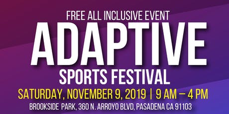 Pasadena Adaptive Sports Festival 2019 tickets