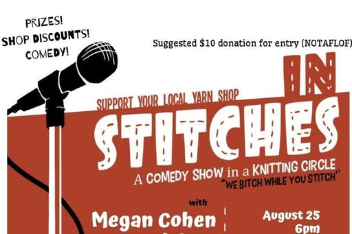 In Stitches Comedy Show - Social Event ( 2019-08-25 starts at 6:00 PM )