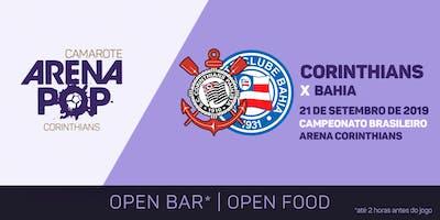 Camarote Arena Pop I Corinthians x Bahia