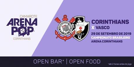 Camarote Arena Pop I Corinthians x Vasco ingressos