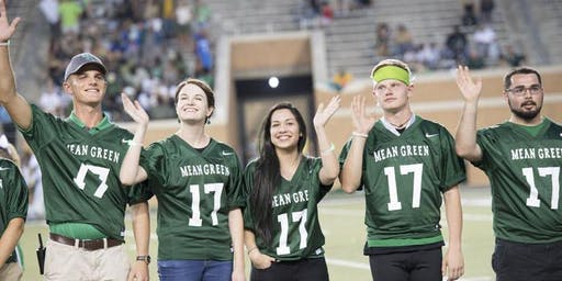 National Merit Ice Cream Social and Mean Green Football - Family Weekend