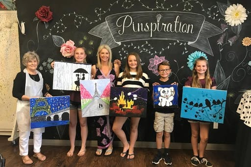 Masterpiece Mondays- Canvas Painting- Choose Your Design ( 2019-08-26 starts at 6:30 PM )