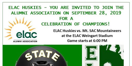 ELAC Huskies Celebrate with the 1974 Football State Champions!
