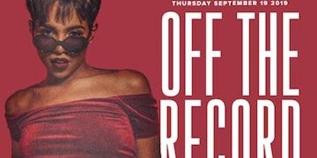 Super Entertainment Presents : OFF THE RECORD w/ Alex Vaughn tickets