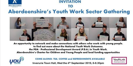Aberdeenshire's Youth Work Sector Gathering 2019 tickets