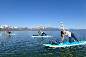 Paddle Board Yoga with Paddle Board Supplied ( 2019-08-26 starts at 8:00 AM ) tickets