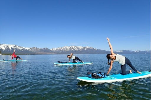Paddle Board Yoga with Paddle Board Supplied ( 2019-08-25 starts at 8:00 AM )