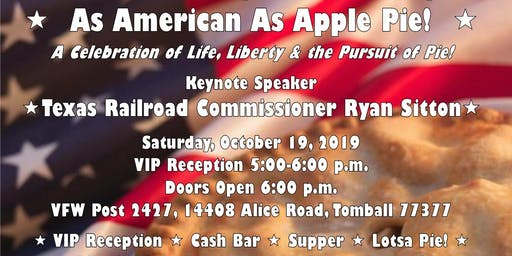 As American As Apple Pie! A Celebration of Life, Liberty & the Pursuit of Pie!