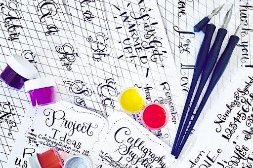 Boston Beginners Modern Calligraphy Workshop (02-08-2020 starts at 12:00 PM)