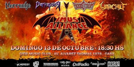 Imus Alliance - 13 de Octubre - Gier Music Club entradas