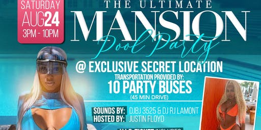 Ultimate Mansion Pool Party Hosted by Bernice Burgos