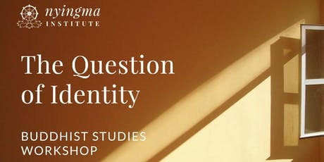 The Question of Identity tickets