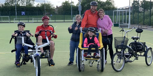 North Tyneside Active Disability Month - Adapted Cycling