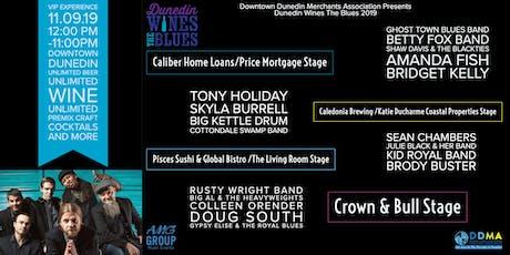 Dunedin Wines The Blues  tickets