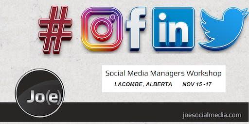 Social Media Managers Workshop