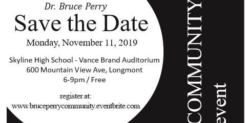 Bruce Perry / Community Event