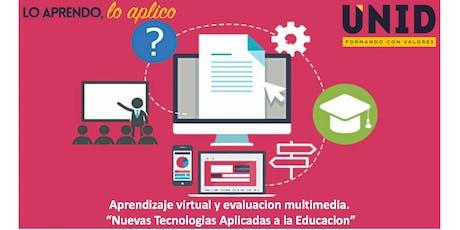 Taller gratuito de: Aprendizaje Virtual y Evaluacion Multimedia boletos