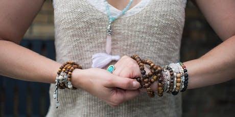 Yoga, Brews and Bracelet Making Workshop tickets