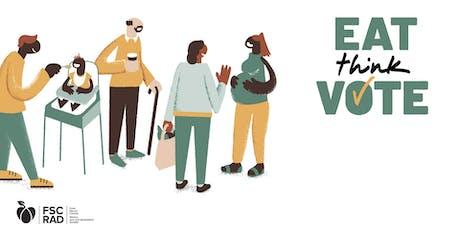 Eat Think Vote, Richmond tickets