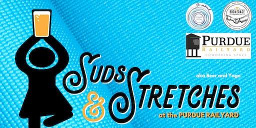 Suds & Stretches @ The Purdue Railyard