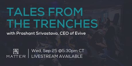Tales from the Trenches: Prashant Srivastava, CEO of Evive tickets