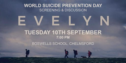EVELYN - World Suicide Prevention Day screening and discussion (FREE)