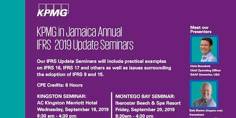 KPMG IFRS Update Seminar - Kingston tickets
