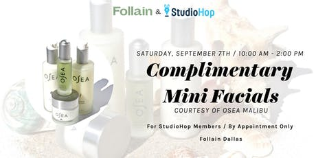 StudioHop Complimentary Mini Facials ft. Osea Malibu tickets