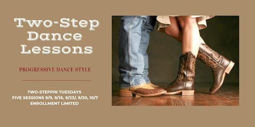 Two-Step Dance Lessons (Progressive Style)