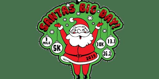 2019 Santa's Big Day 1M, 5K, 10K, 13.1, 26.2-Raleigh