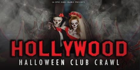 2019 Hollywood Halloween Club Crawl tickets