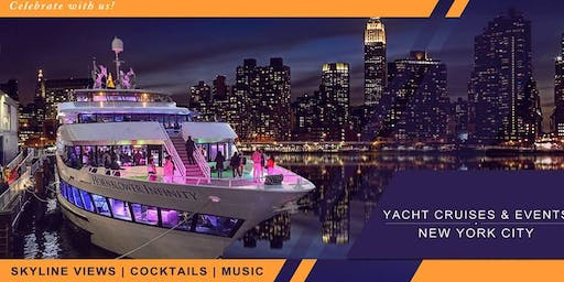 YACHT PARTY CRUISE  NEW YORK CITY VIEWS  OF STATUE OF LIBERTY,Cocktails & Music