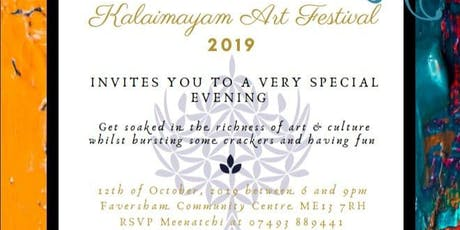 Kalaimaiyam International Art Festival 2019 tickets