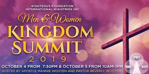 2019 Men & Women Kingdom Summit