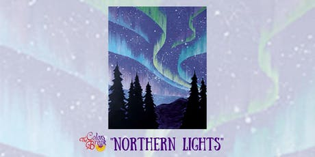 """Northern Lights"" Paint Night tickets"