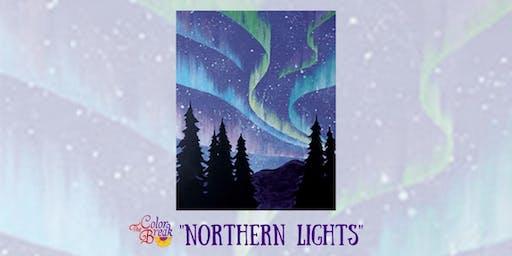 """""""Northern Lights"""" Paint Night"""