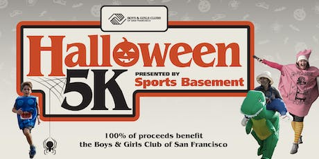 2019 BGCSF Halloween 5K, presented by Sports Basement tickets
