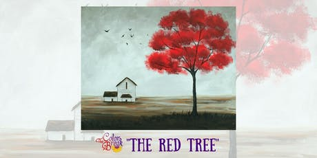 """""""The Red Tree"""" Paint Night tickets"""