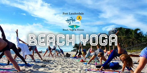 Saturday AM Beach Yoga by Donation