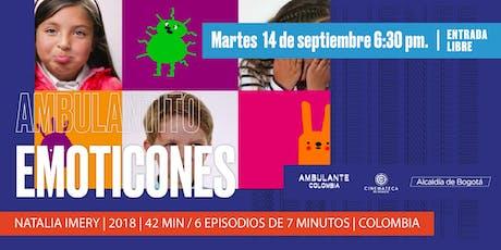 Ambulante Presenta | Ambulantito: Emoticones tickets