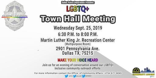 Dallas PD- LGBTQ+ Town Hall Meeting
