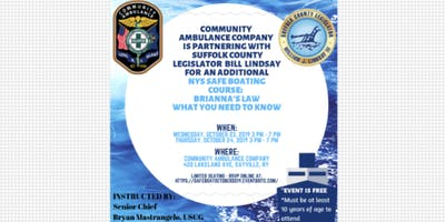 NYS Safe Boating & Brianna's Law: What you need to know