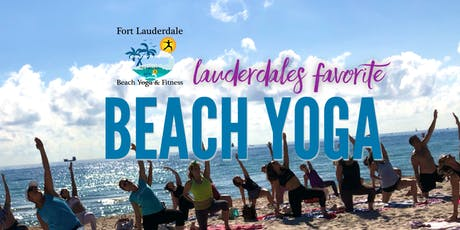 Friday Beach Yoga on Fort Lauderdale Beach tickets