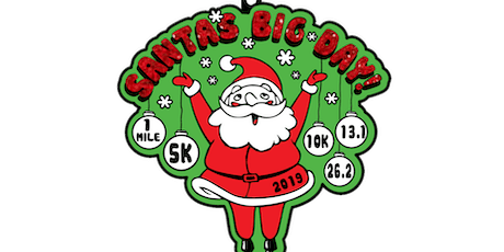 2019 Santa's Big Day 1M, 5K, 10K, 13.1, 26.2- Richmond tickets