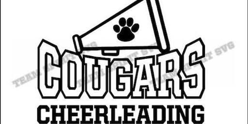 Junior Cougars Cheer Camp