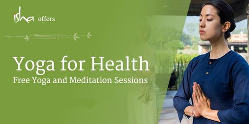 Copy of Yoga For Health - Free Session at the Isha Yoga Centre (London)