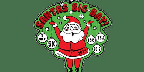 2019 Santa's Big Day 1M, 5K, 10K, 13.1, 26.2- Charleston tickets