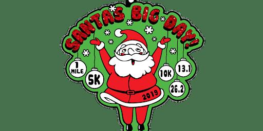 2019 Santa's Big Day 1M, 5K, 10K, 13.1, 26.2- Green Bay